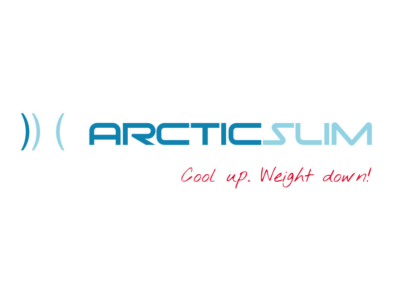 arctic slim. Cool up. Weight down.